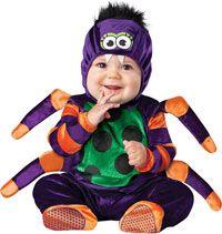 Itsy Bitsy Spider Baby Costume - Baby Costumes / Déguisement d'araignée pour bébé  http://www.costumecraze.com/BABY268.html