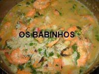 AS PAPINHAS DOS BABINHOS: Arroz de Marisco - versão Susana - http://aspapinhasdosbabinhos.blogspot.pt/2010/08/arroz-de-marisco-versao-susana.html