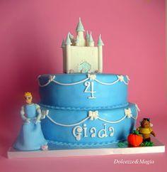 Princess Cinderella Cake Cakes Princess Cinderella Pinterest