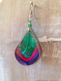 N.E.W earrings from Peru! Now online