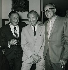 Frank Sinatra Hank Greenspun and Eddie Moss bookie and casino manager of the Sahara Hotel. Real Gangster, Mafia Gangster, La Confidential, Chicago Outfit, Joey Bishop, Las Vegas City, Al Capone, Historical Quotes, Thug Life
