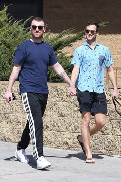 Sam Smith and Brandon Flynn are just too cute for their own good. On Tuesday, the couple enjoyed a sweet stroll as they walked the 13 Reasons Why actor's dog,
