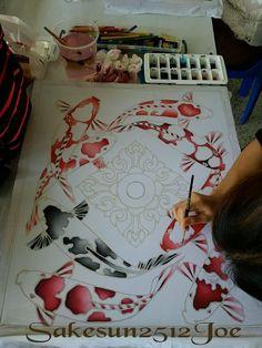Paint Games, Game Themes, Henna Ideas, Silk Painting, Cards, Inspiration, Animals, Silk, Pintura