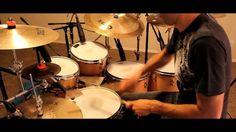 """Roberto Serrano Playing Drums, """"Mas +"""", 2013"""