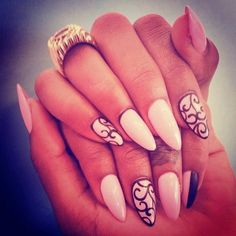 Like if you'd wear this perfect nail design idea