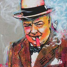 The Optimist Winston Churchill