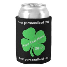 St Patrick's Day Can Cooler