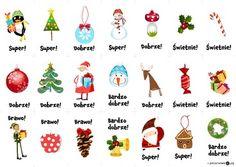 Świąteczne obrazki motywacyjne - Printoteka.pl Stuff To Do, Cool Stuff, Asd, Diy For Kids, Games To Play, Kindergarten, Education, Christmas Ornaments, Holiday Decor