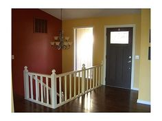 Entry way . Not a fan of the color choices? No worries! This house has a new paint allowance offer available right from the start. Customize it your way Lakefront Homes For Sale, Real Estate Buyers, Boat Dock, Stainless Appliances, Granite Counters, Breakfast Nook, Arkansas, Laundry Room, Choices