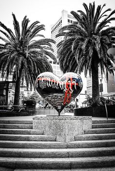 Union Square Heart Art - San Francisco, California