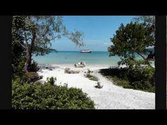 ▶ The Beach. Island Resort & Club. Koh Rong Samloem Island. SihanoukVille, Cambodia. - YouTube