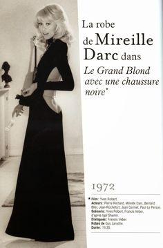 """Diy : La robe sexy de mireille Darc dans le """"Grand Blond"""", couture facile à réaliser. BOARD: https://fr.pinterest.com/bettinael/happy-diy/"""