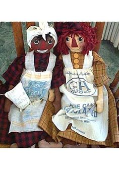 Belindy and Raggedy Ann