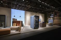 Martela's booth at SFF 2019 Best Workplace, Learning Environments, Scandinavian Design, Stockholm, Interior, Furniture, Indoor, Learning Spaces, Home Furnishings