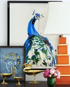 Jonathan Adler, Brass Bird Bowls