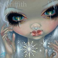 Faces of Faery Art Prints Archives - Strangeling: The Art of Jasmine Becket-Griffith Illustration Art Dessin, Illustrations, Jasmine Becket Griffith, Fairy Pictures, Magical Pictures, Amy Brown, Winter Fairy, Gothic Fairy, Steampunk Fairy