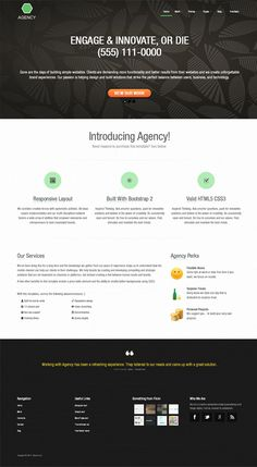 Free bootstrap templates free dreamweaver mobile friendly web templates allow one to get better ideas and insights to develop interactive website designs here is a list of free templates of 2013 that will help you in pronofoot35fo Gallery
