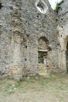 Pigna (IM), ruderi della Chiesa di San Tommaso