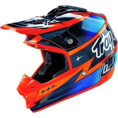 Dirt Bike Troy Lee Designs 2016 SE3 Helmet - Team | MotoSport