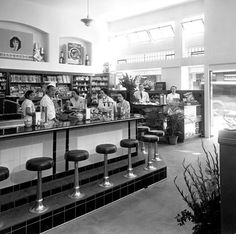 Social Hot Spot: In 1937, Benson Smith Drug Store, on King and Fort streets, was a mainstay in Honolulu, not only for its pharmacy, its supply of toiletries, candy and perfumes, but also for its soda fountain. It was a popular meet-up spot for the town's socialites.