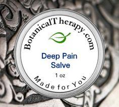 Tiefen Schmerz Salve von BotanicalTherapy auf Etsy
