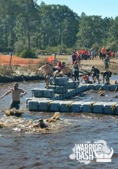 Warrior Dash ... June 23, 2012. Chad and I are already signed up