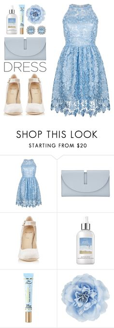 """""""Michelle's wedding"""" by brie-the-pixie ❤ liked on Polyvore featuring Ukulele, Kin by John Lewis, Alexander White, philosophy, Too Faced Cosmetics and Monsoon"""