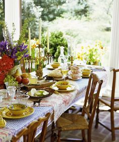 Party Time! #table #trends #summer