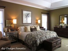 Beautiful and achievable Master Bedroom from DIY DESIGN FANATIC