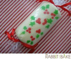 Another Christmas theme swiss roll