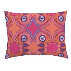 Campine Pillow Sham featuring Popiutu by joancaronil | Roostery Home Decor