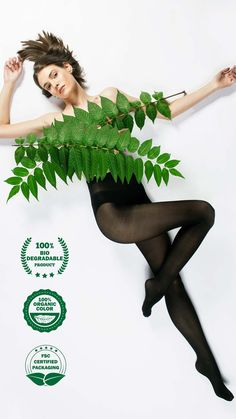 The first antibacterial biodegradable tights with aloe vera Eco Clothing, Brand Strategist, Blink Of An Eye, Wash Bags, Slow Fashion, Aloe Vera, Sustainable Fashion, Biodegradable Products, Tights