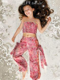 VN : Her little world : Exotique 2/4/6/8/10 ans