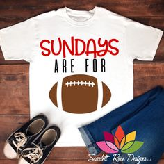 Sunday's are for Football SVG cut file, Pro Football SVG