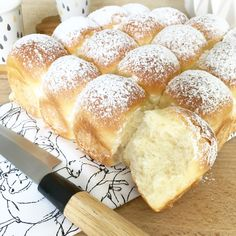 Brioche Butchy Winter Treats, Cake Factory, Thermomix Desserts, Cooking Chef, Hot Dog Buns, Bread Recipes, Brunch, Food And Drink, Healthy Recipes
