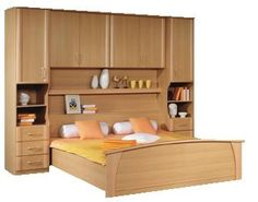 Milos Beech Over-Bed Fitment| Over Bed Units| Over the Bed Fitments