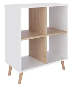 Buy Argos Home Skandi 2 x 2 Storage Unit - White Two Tone at Argos. Thousands of products for same day delivery or fast store collection. Open Shelving Units, Do It Yourself Home, Argos, Home Organization, Habitats, Storage Spaces, Family Photos, Bookcase, Drawers