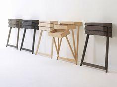 Pivot Desk Scrittoio di ARCO, # raw edges