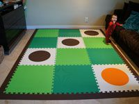 SoftTiles Circles | Foam Mats for Kids