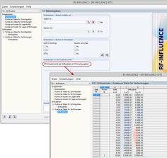 Dlubal RFEM 5 - Ausgabe kleiner Ordinatenwerte mit Hilfe des E-Formats in RF-INFLUENCE | www.dlubal.de | #bim #cad #dlubal #dynamik #eurocode #fem #rfem #rstab #rxholz #statik #statiksoftware #tragwerksplanung