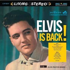 """""""Elvin Is Back!"""" (1960, RCA) by Elvis Presley.  (See: http://www.youtube.com/watch?v=Uajz2wXNeuk)"""