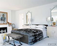 Fashion Designer Homes: Reed Krakoff's Luxurious Bedroom