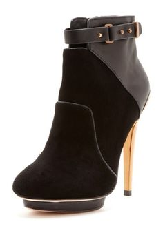 This boot was definitely made for walking... Beldon Bootie by BCBGMAXAZRIA