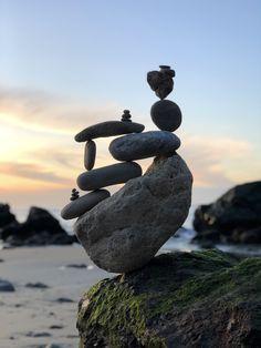 These artist editions are designed for use in your meditation space. Zen Rock Garden, Garden Art, Rock Sculpture, Stone Sculptures, Abstract Sculpture, Bronze Sculpture, Stone Balancing, Art Pierre, Balance Art
