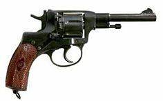 RUSIA: Revolver Nagant M1895