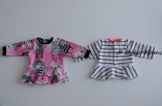 Baby Bornille body, peplum, frillamekko ja housut (sisältää kaavat!) Doll Clothes Patterns, Clothing Patterns, Little Darlings, Diy And Crafts, Peplum, Barbie, Rompers, Dolls, Sewing
