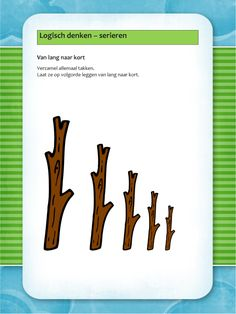 Logisch denken School Hacks, Drake, Flora, Kindergarten, Math, Autumn, Plants, Kindergartens, Math Resources