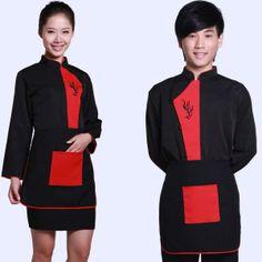 Restaurant Uniforms,Chef Uniform,Hotel Design Uniform $6.8~$15.3