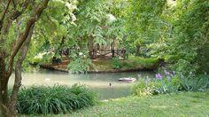 Non è un quadro: sono i giardini di villa Reale Foto di Andrea Toscano #milanodavedere Milano da Vedere
