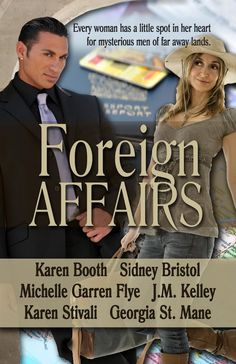 Foreign Affairs, a romance anthology from Turquoise Morning Press, will be out in August.